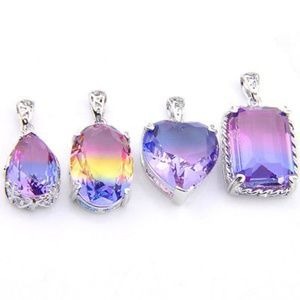 Jewelry - Mystical Amethyst Pendant Set of 4 - Brand New